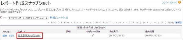 レポート作成スナップショット2