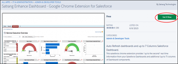 Chrome Extension for Salesforce Get It Now